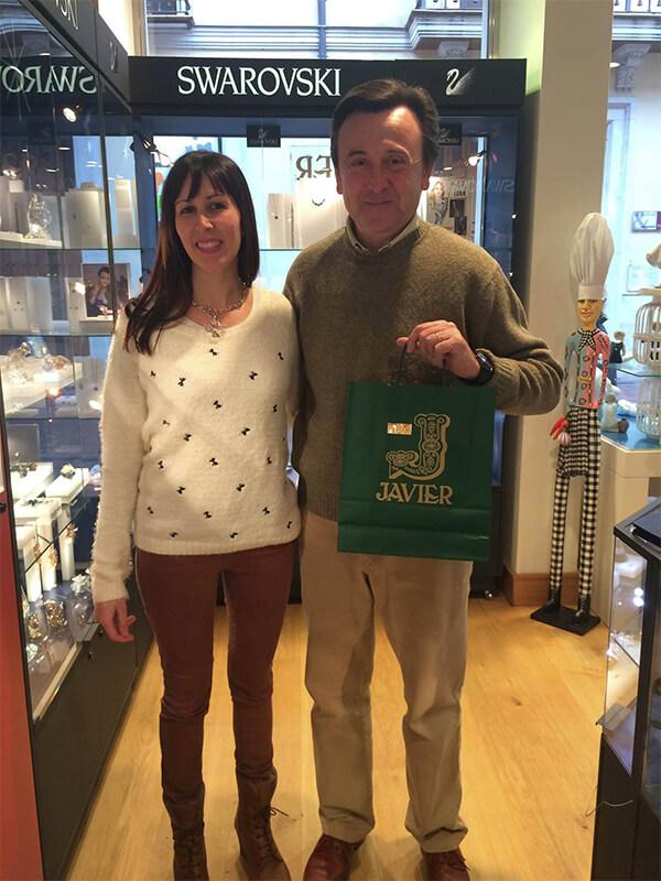 Ganadora Campaña de Reyes Distrito1 2015. Comercio Valladolid